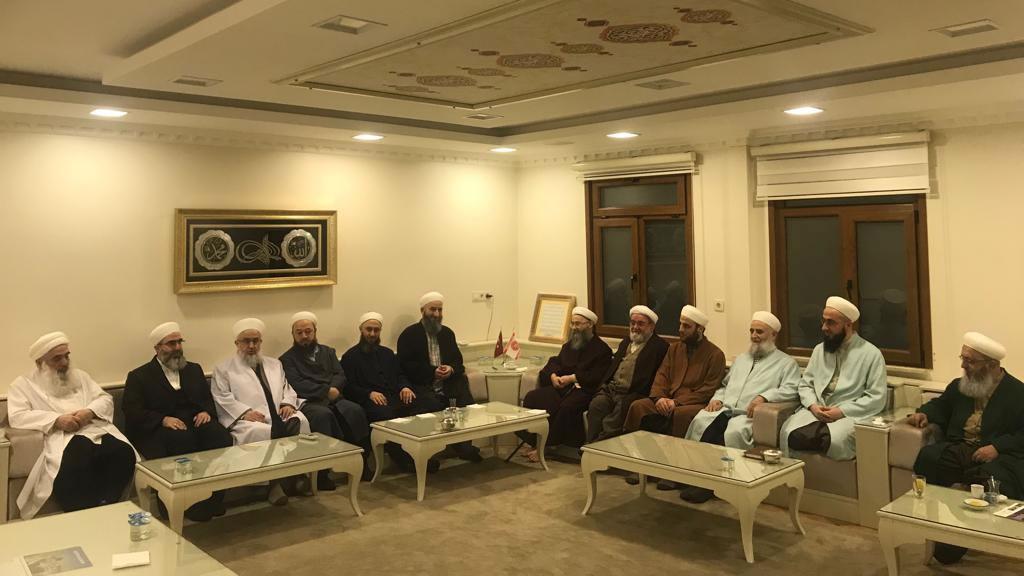 İsmailağa Ulema Heyeti Mart 2019 İstişare Toplantısı